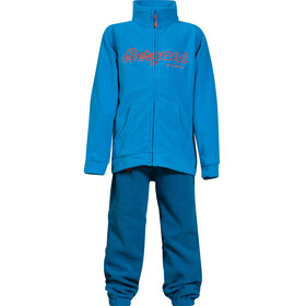 Bergans Smådøl Set Kids Light Sea Blue/Deep Sea/Koi Orange